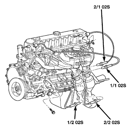 04 Jeep Grand Cherokee Oxygen Sensor Wiring Diagram